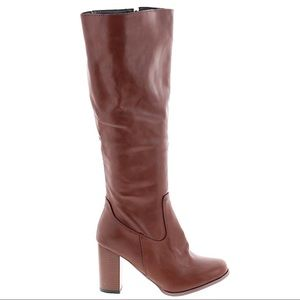 Shoes - Faux Leather Boots